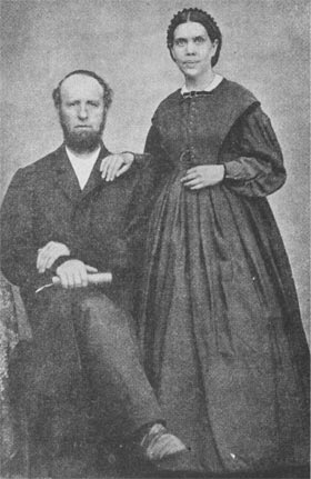 Elder James White and Mrs Ellen G. White